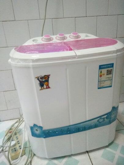 小鸭 2.5公斤双缸半自动迷你洗衣机 婴儿宝宝小洗衣机 家用租房小双桶  XPB25-1657S香槟色 晒单图