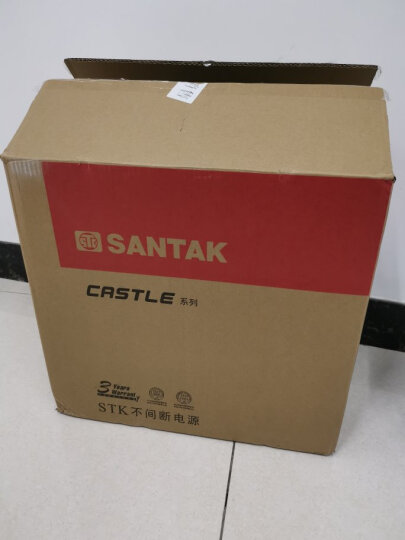 山特(SANTAK)UPS不间断电源 山特C3K 3000VA/2400W在线式智能稳压续航20分钟 晒单图