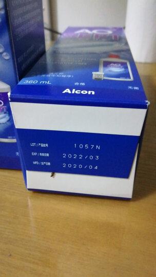 爱尔康视康AO洁镜双氧水360ml隐形眼镜护理液软性镜片通用 360ml*3瓶(含双氧杯) 晒单图