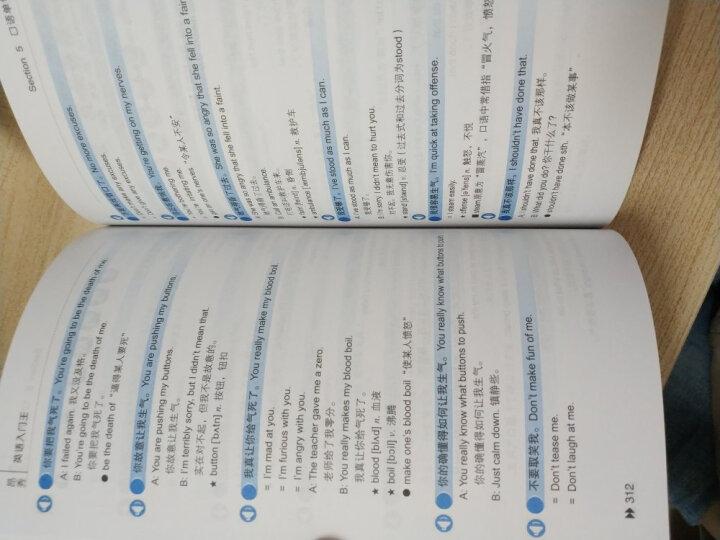 英语入门王-从ABC到流畅英语口语书籍 零基础学英语 自学英语语法 外语学习 英语速成自学教材 晒单图