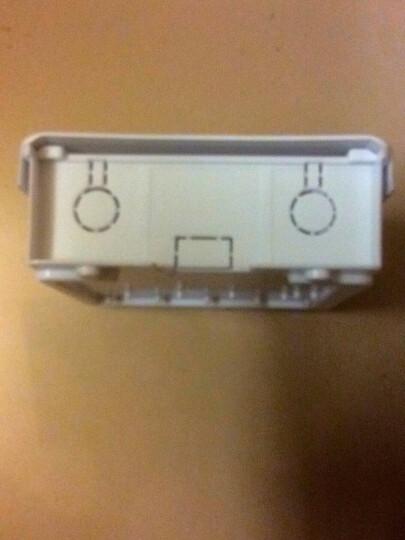 视明通 监控防水箱监控电源室外防水盒  塑料电源防水盒 弱电防水盒 盒内不带插座 晒单图