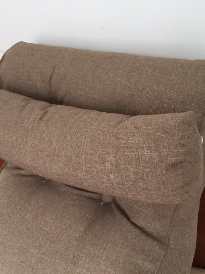 床头靠垫靠枕床头双人床上软包榻榻米靠枕床上三角大靠垫沙发靠背 森林乐章 大号长55X60cm护腰款 晒单图