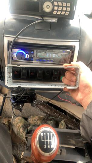 车美美 车载MP3收音机 支持车载蓝牙MP3和无损音乐 堪比汽车CD机音质 车载MP3-12V-5198白色按键版 五菱之光荣光兴旺无损线 晒单图