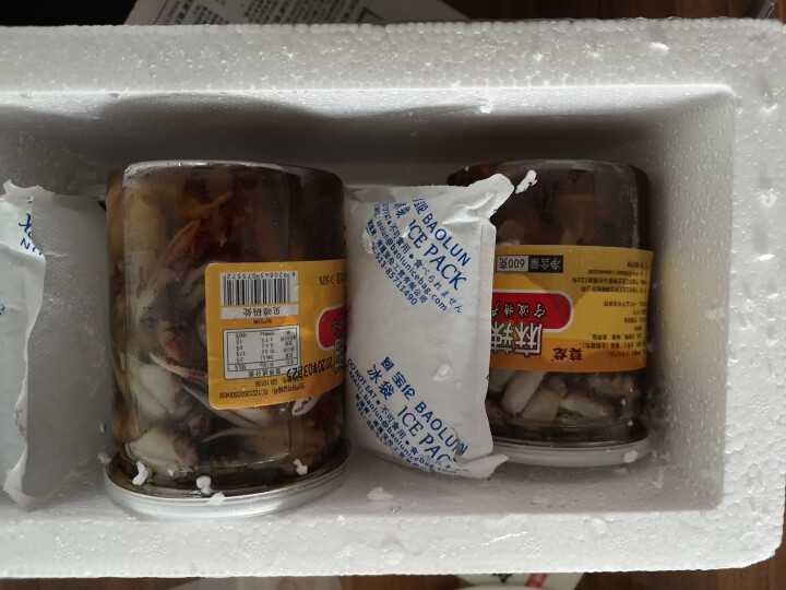 【宁波馆】麻辣蟹钳600g/罐 肉质饱满醉蟹钳蟹脚蟹棒即食蟹钳舟山蟹类 晒单图
