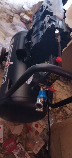 OUTSTANDING 静音无油空压机550W电机黑色系列小充气泵奥突斯空气压缩机家用吹尘 550W-30L+F30直钉枪 晒单图