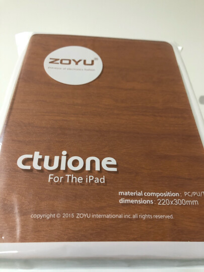 zoyu 苹果2018新款iPad保护套2017平板电脑9.7英寸air2商务Air1 天空蓝 2018/2017/Air1/Air2 晒单图