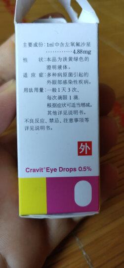 老拨云堂 加替沙星滴眼液 24mg:8ml 红眼病 结膜炎 眼药水 晒单图