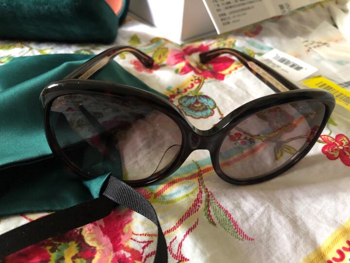 古驰(GUCCI)太阳镜女 墨镜 渐变棕镜片哈瓦那镜框GG0080SK 003 61mm 晒单图