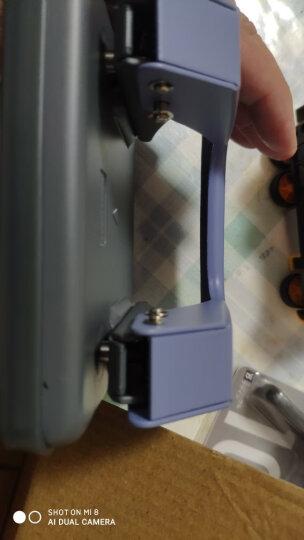 得力(deli)φ6mm可打20页两孔打孔器打孔机(带标尺) 中号混色0102 晒单图