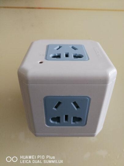绿奥(LVAO)魔方多功能USB无线插座/转换器/转换插头/魔方插座/插排/一转四 GY-666USB 晒单图