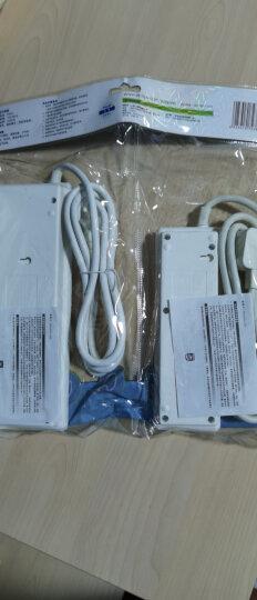 飞利浦(PHILIPS)插座套装8孔位+3孔位(2个) 1.8米组合套装 插线板/插排/排插/接线板/拖线板 晒单图