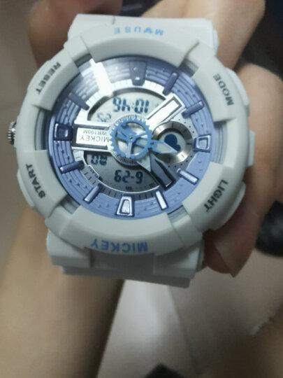 迪士尼(Disney)手表男学生 电子表防水户外运动男士 双显夜光青少年男表男生手表MK-15052Y 晒单图