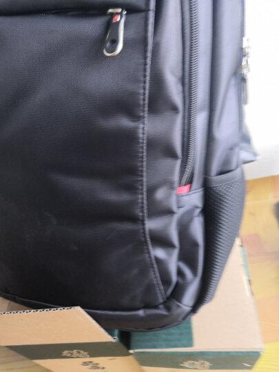 CROSSGEAR 瑞士包双肩包男士笔记本电脑包15.6英寸商务背包大容量旅行包休闲学生书包 CR-9002I 黑色 晒单图