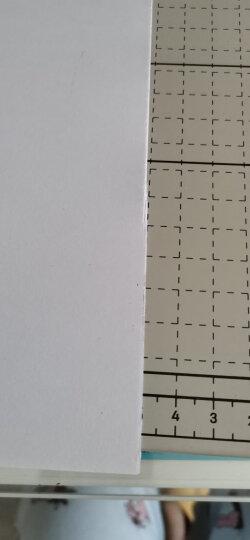 得力(deli) 8013 钢质切纸机/切纸刀/裁纸刀/裁纸机 380mm*300mm 晒单图