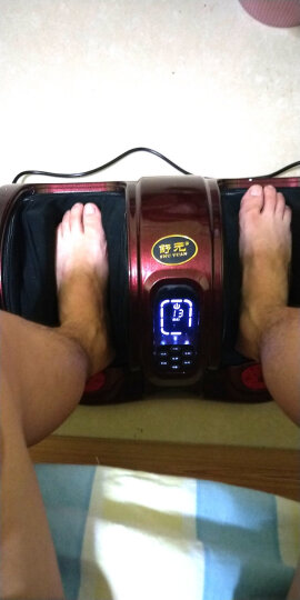 舒元足疗机 多功能脚部脚底腿部足底按摩器足部小腿按摩仪 经典黑普通款 晒单图