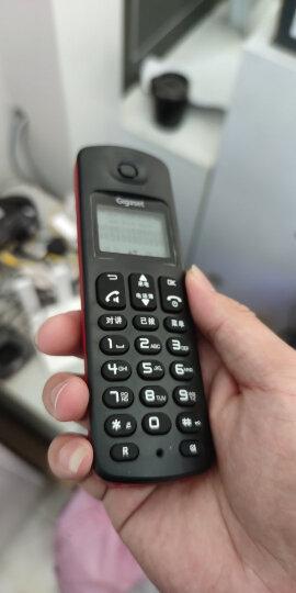 集怡嘉(Gigaset)无绳电话机 无线座机 子母机 办公家用 屏幕背光 中文图标 免提 原西门子A190L单机(冰湖蓝) 晒单图