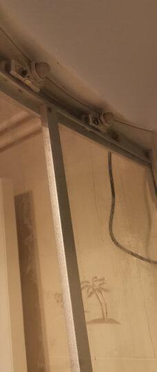 妙记圆弧淋浴房滑轮老式浴室玻璃推拉移门小吊轮铝摇摆双轮淋浴房配件 轮子直径23MM双轮摇摆轮 晒单图