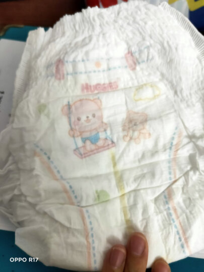 好奇Huggies铂金装纸尿裤L120片(9-14kg)大号婴儿尿不湿,小桃裤新老包装随机发货夏日超薄透气 晒单图