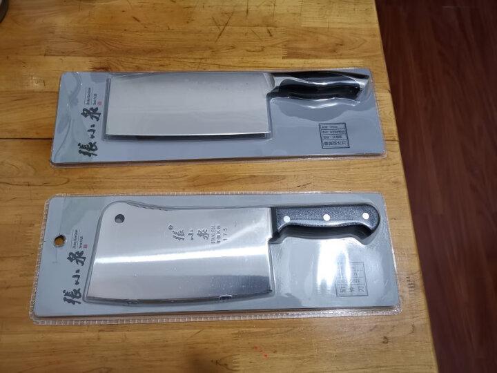 张小泉 锋颖系列不锈钢家用切片刀 菜刀W70069000 晒单图