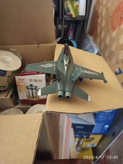 飞机模型合金儿童玩具飞机仿真战斗机客机轰炸机直升飞机模型金属 无人轰炸机 晒单图