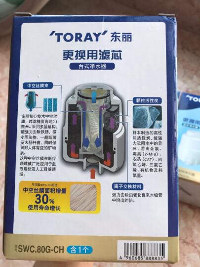 东丽(TORAY)SWC.80G-CH台式净水器滤芯 适用于SW801/802/803/805 晒单图