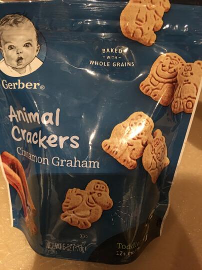 嘉宝Gerber 饼干磨牙棒饼干 婴幼儿辅食 宝宝零食 香脆动物饼干 四段(12个月以上)170g 美国进口 晒单图