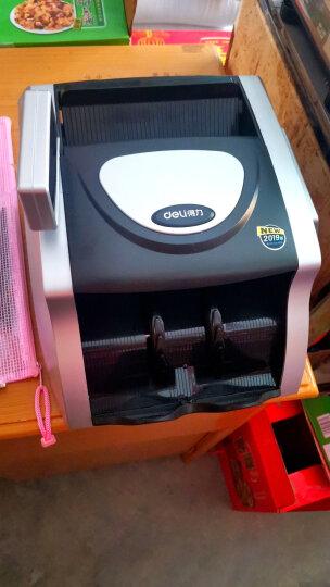 得力(deli)2019年新版人民币点钞机验钞机 银行智能语音报警 商用家用新版点钞机数钱机加强型C级3908S 晒单图