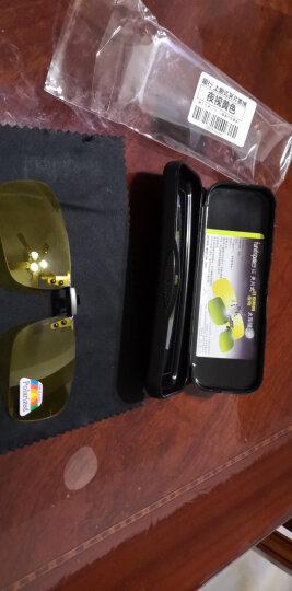 趣行 上翻式偏光夹片太阳镜 防紫外线汽车驾驶钓鱼 近视镜配套夹片墨镜 男女款夹子墨镜 晒单图