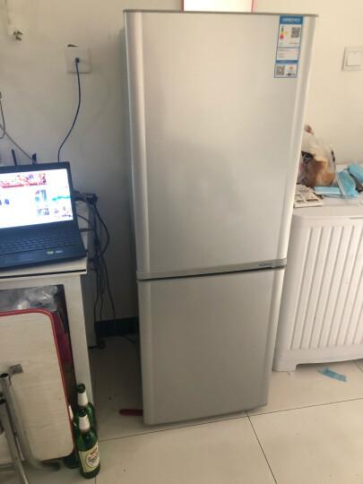 康佳(KONKA)170升 双门小型电冰箱 金属面板 静音 家用两门  寝室用电冰箱 (银色)BCD-170TA 晒单图