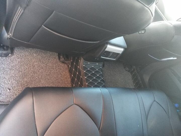 汽车脚垫全包围丝圈皮革大众新途观L帕萨特迈腾亚洲龙领界英诗派途岳宝马X5系X3昂科威A6L奥迪Q5L 全包围-米色(格子) 亚洲龙 领界 英诗派 奥迪Q2L 宝马X2 奕歌 晒单图