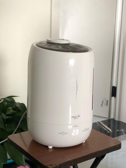 德尔玛(Deerma) 加湿器 5L大容量 家用卧室静音  迷你空气加湿 DEM-F600(白) 晒单图