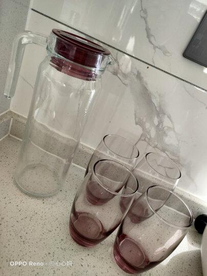 乐美雅 Luminarc 葡萄园直身杯 无铅玻璃水杯茶水饮料果汁杯 290ml 6只装 13790 晒单图