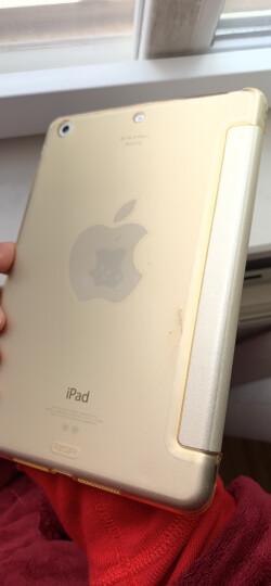 亿色(ESR)苹果iPad mini2/3/1保护套 迷你2平板电脑壳7.9英寸 超薄全包防摔休眠皮套 悦色系列 香槟金 晒单图