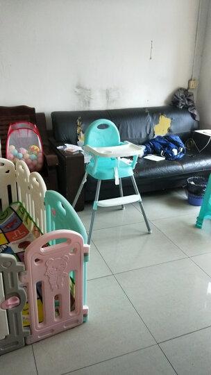 Tobaby 宝宝餐椅婴儿便携儿童餐桌椅子多功能可折叠吃饭餐椅 TB-518浅绿色 晒单图