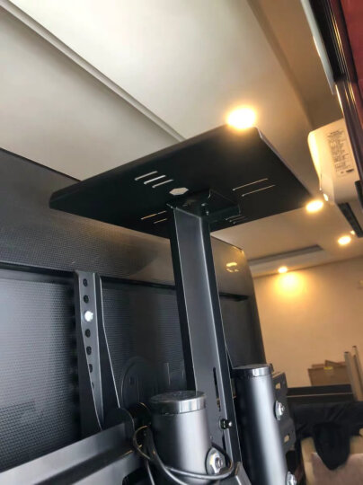 NB AVT1800-100-1P(60-100英寸)液晶移动推车电视架落地教学视频会议电子白板触摸一体机支架挂架白色 晒单图
