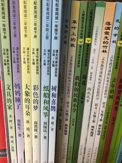 人教版义务教育课程标准实验教科书 语文同步阅读 二年级上册 金色的小船  晒单图
