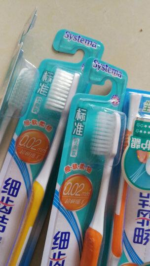 狮王(Lion)细齿洁标准牙刷(新老包装、颜色随机发放) 晒单图