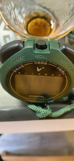 天福秒表跑步运动训练裁判表电子闹钟防水夜光计时器单排大屏显示PC2002EL 晒单图