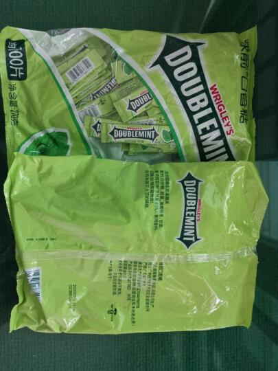 绿箭(DOUBLEMINT)口香糖原味薄荷味约12片32g单盒装(新旧包装随机发) 晒单图