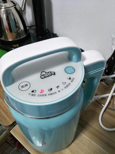 九阳(Joyoung)豆浆机0.4-0.6L家用多功能触屏面板 立体环绕加热DJ06B-DS61SG 晒单图