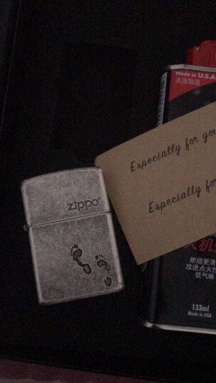 zippo打火机zp煤油正品原装古银做旧二战纪念复古芝宝耐磨火机男士礼品刻字个性定制DIY送礼 LOVE字母 晒单图