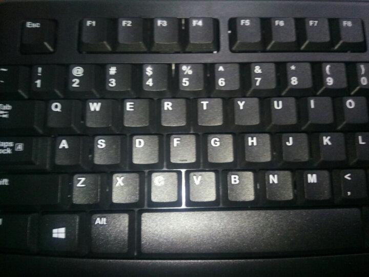 罗技(Logitech)MK120 键鼠套装 有线键鼠套装 办公键鼠套装 电脑键盘 笔记本键盘 联想全尺寸 黑色 晒单图
