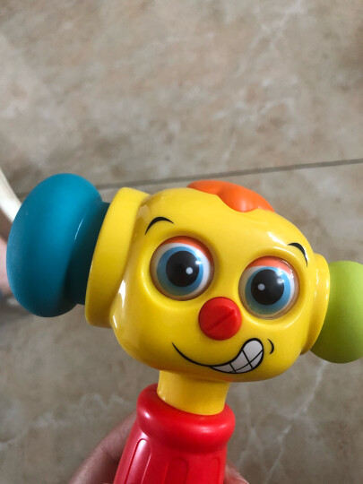 汇乐玩具(HUILE TOYS)767逗乐变幻锤 早教益智玩具儿童宝宝婴幼儿打地鼠锤子音乐电动男孩女孩礼物0-1-3岁 晒单图