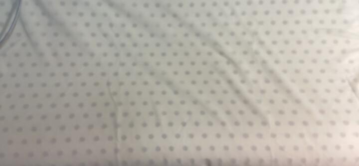 8H乳胶枕Z2 小米米家生态链泰国直采天然乳胶双层枕套 科学曲线舒适护颈透气乳胶枕头 白色 单只装 晒单图