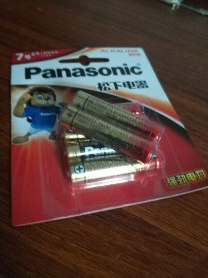松下(Panasonic)原装进口5号数码碱性电池12粒适用于相机玩具遥控器 LR6LAC 晒单图