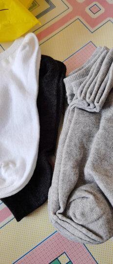 南极人袜子男潮袜纯色棉男袜中筒男士袜子休闲船袜透气运动短袜 船袜彩标款10双装 均码 晒单图