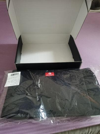 狂迷(kuangmi) 护腰带运动束腰专业男女透气收腹带健身护具 晒单图