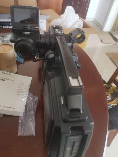 索尼(SONY)HXR-MC2500肩扛式高清数码摄录一体机 婚庆 会议专业数码高清摄像机2500C 黑色 套餐四 晒单图