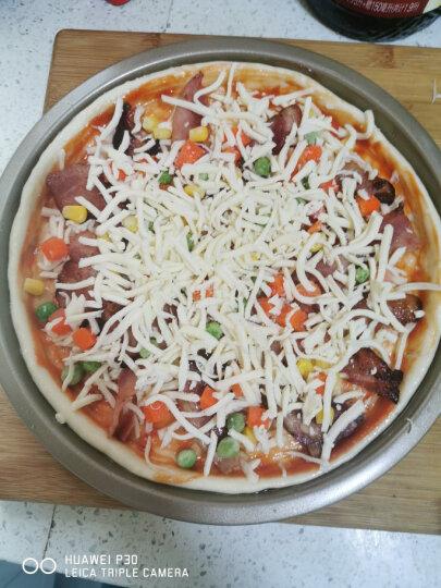 厨氏  烘焙模具 披萨盘6/8/9英寸 家用烤盘烘焙模具pizza盘 披萨饼披萨皮比萨胚模具 【6寸常规  ZY6202 1~2人量】 晒单图