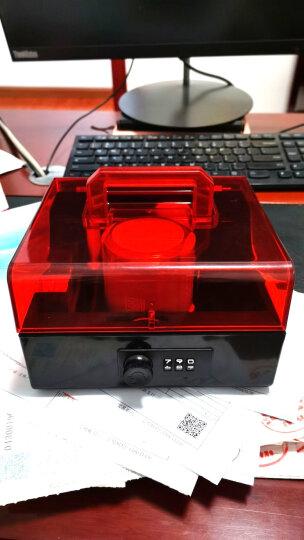 金隆兴 (glosen)B8056 密码锁财务印章盒 公章收纳盒 黑红 晒单图